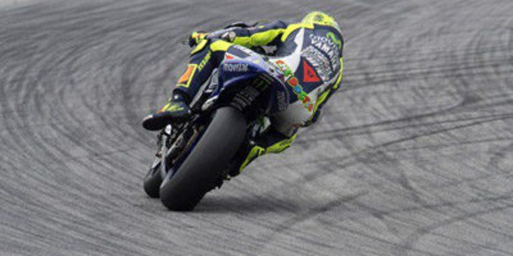 Valentino Rossi y la lluvia protagonistas del primer día de test