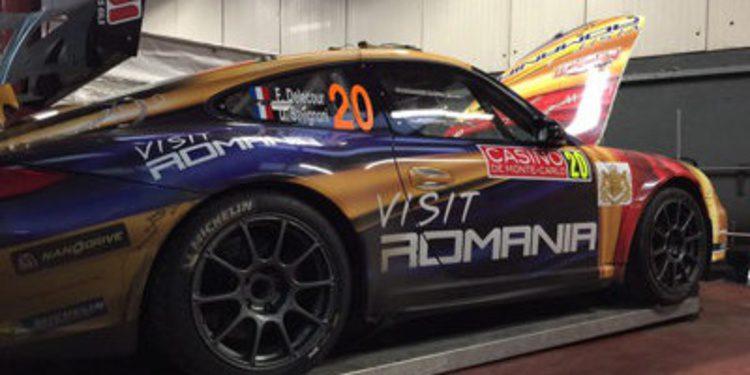 Test del Porsche 997 GT3 RGT de Tuthill en Irlanda