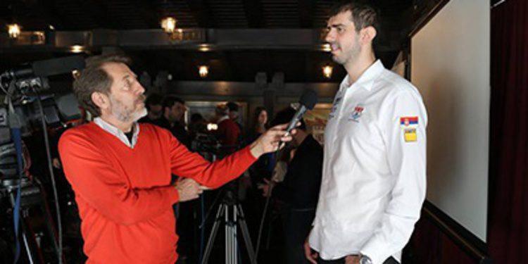 Dusan Borkovic presenta su temporada en Serbia