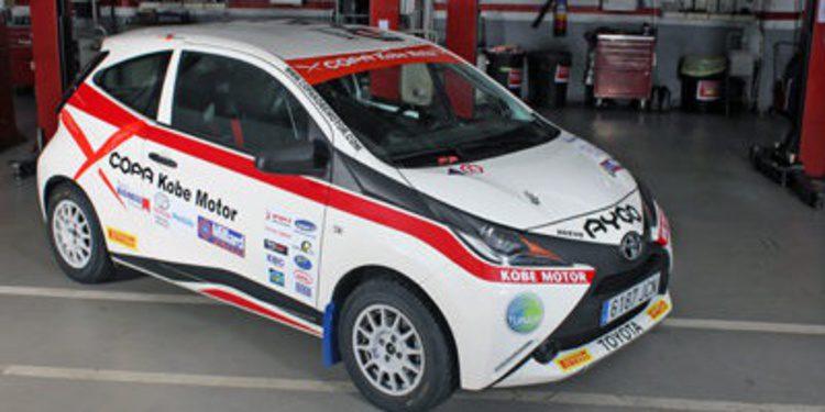El Toyota Aygo de la Copa Kobe Motor debuta en Lorca