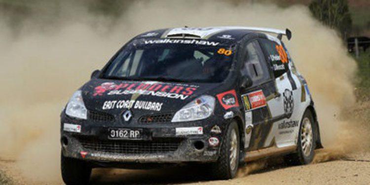 El campeón de Australia Scott Pedder en WRC2