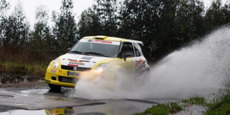 Suzuki de test para preparar el Nacional de Asfalto