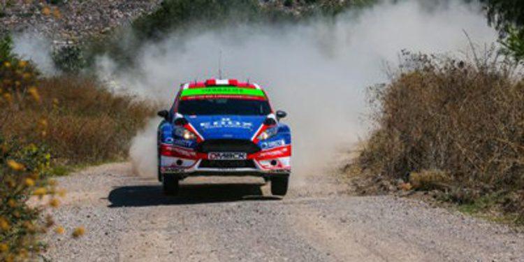 Test previo al Rally de México para los pilotos de WRC2