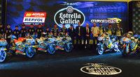 Presentación de los equipos Estrella Galicia 0,0 Marc VDS
