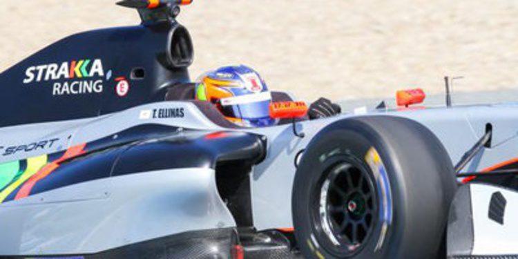 Tio Ellinas encabeza el primer día de test en Jerez