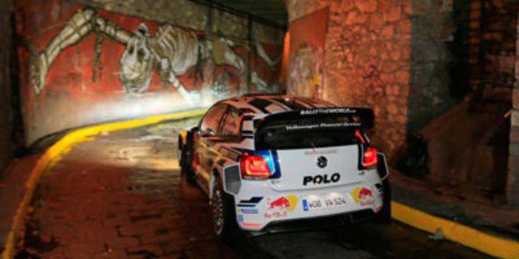 Sebastien Ogier primer líder en el Rally de México