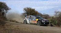 Criba mayúscula en el primer bucle del Rally de México