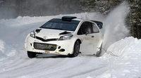 Toyota sigue los pasos del Mundial y prueba en Suecia