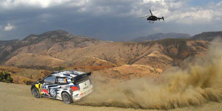 Ogier controla y Sordo pincha en el Rally de México