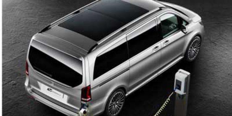 Mercedes Concept V-ision e: Imagina un Plug-In Hybrid