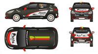 Joao Correia presenta los colores del Renault Clio R3T