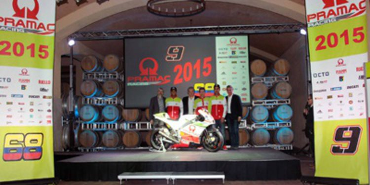 Presentación del Pramac Racing Team en Italia
