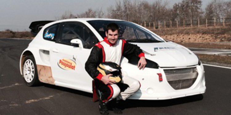 Jerome Grosset-Janin con Albatec Racing en el Euro RX