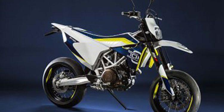 Husqvarna presentará la 701 Supermoto en el BCN Moto