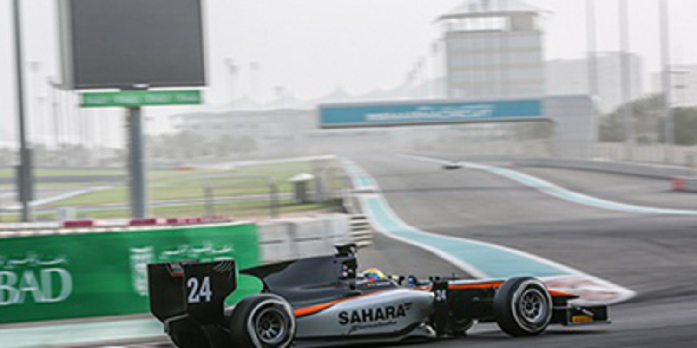 Buen trabajo de Sergio Canamasas en el test de GP2