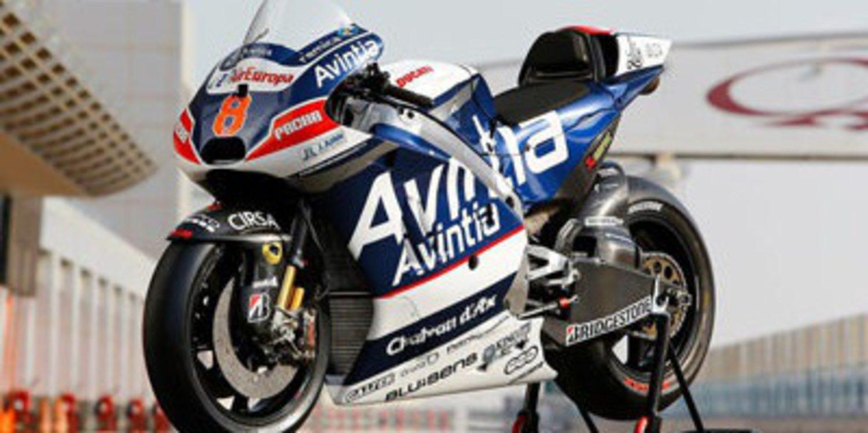 Las Ducati de Avintia Racing lucen nuevos colores