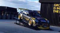Espectacular el Porsche 911 GT3 2008 de Iago Caamaño