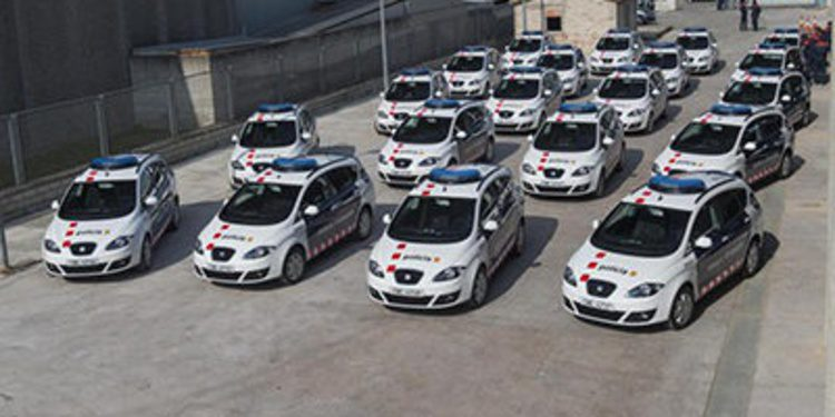 SEAT entregará 394 vehiculos a los Mossos d'Esquadra