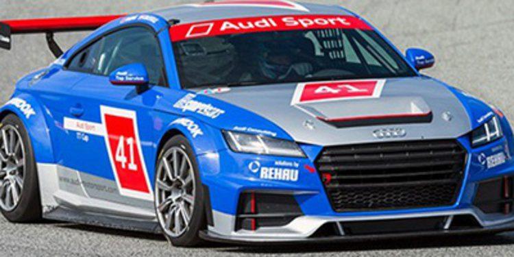 Team Engstler con dos Audi TT en las TCR Series