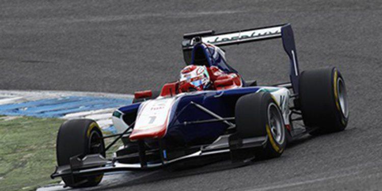 Buen estreno de Fuoco en la pretemporada de GP3
