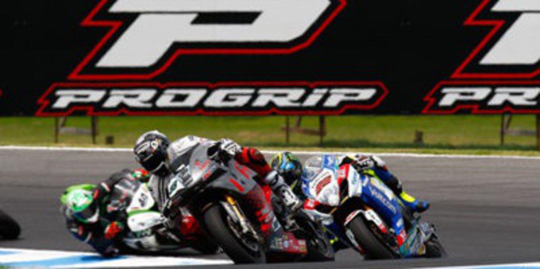 El Mundial de Superbikes y Progrip unidos por dos años
