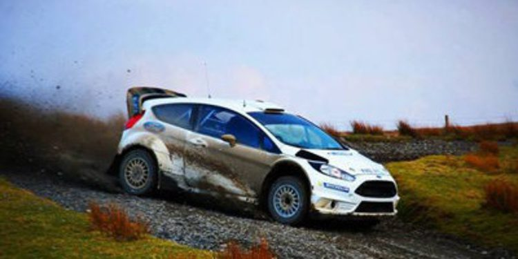 Tänak y Evans ya prueban en el nuevo Ford Fiesta RS WRC