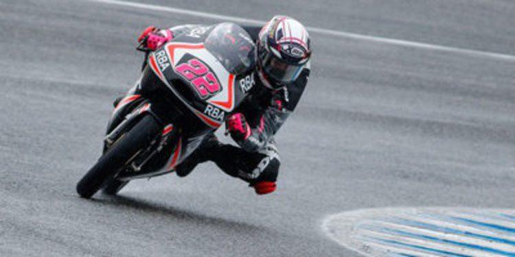 Ana Carrasco se fractura la clavícula en los test de Jerez