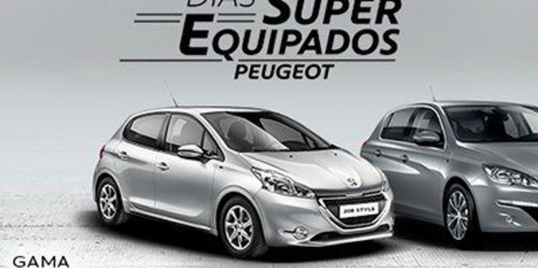 'Días Super Equipados' para la gama Peugeot