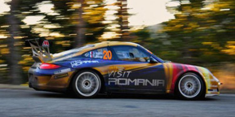 Tuthill y Robert Woodside juntos en el Circuit of Ireland