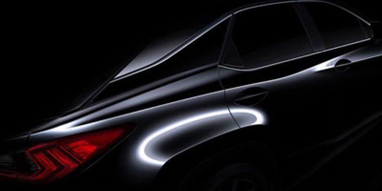 ¿Qué esconde el nuevo Lexus RX?