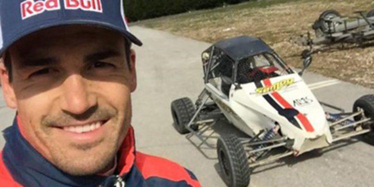Dani Sordo se prepara en el Circuito de Montalegre
