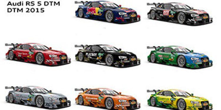 Desveladas las decoraciones de Audi para el DTM