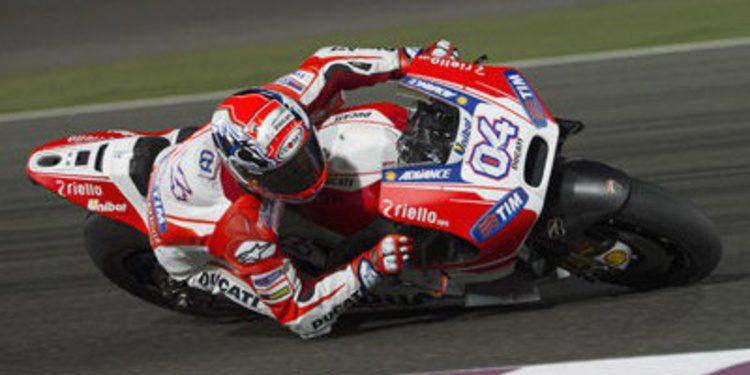 Ducati, sorpresa y promesa en el GP de Catar