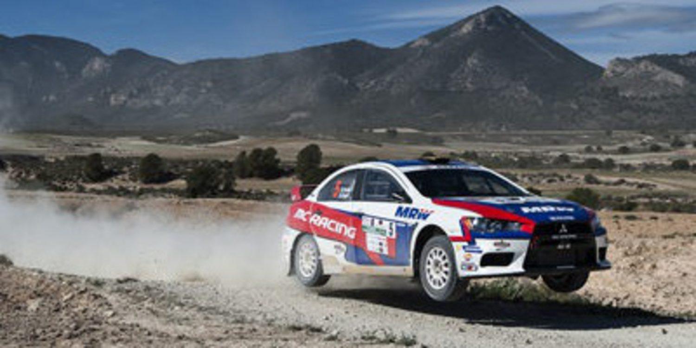 Distintos objetivos entre los pilotos en el Rally de Navarra