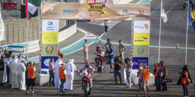 Etapa de exhibición del Abu Dhabi Desert Challenge