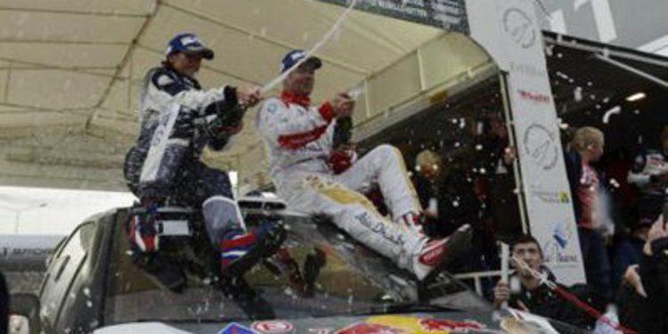 Sebastien Loeb gana en el Rally Epernay con autoridad
