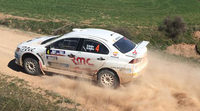 Trofeos y copas en el I Rally Circuito de Navarra del CERT