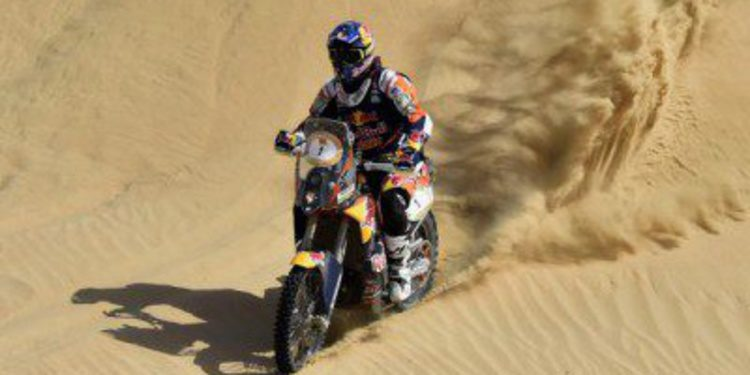 Coma y Al Helei ganan la primera etapa del Abu Dhabi Desert Challenge