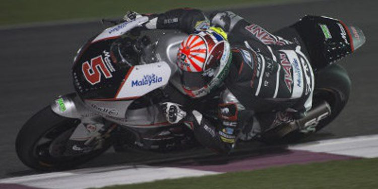 Johann Zarco se anota el warm up de Moto2 en Doha