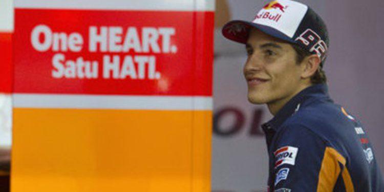 Márquez recupera el mando en Doha en el warm up