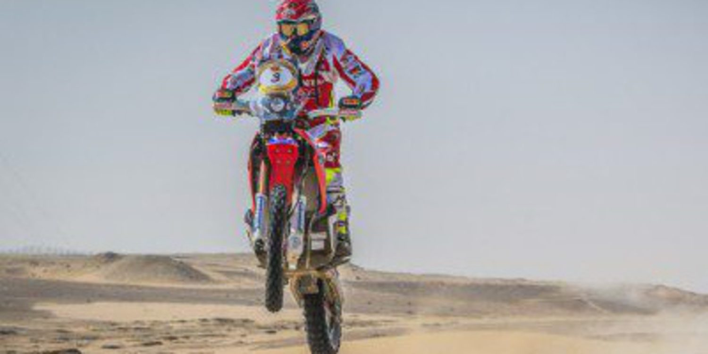 Barreda y Al-Attiyah ganan la segunda etapa del Abu Dhabi Desert Challenge