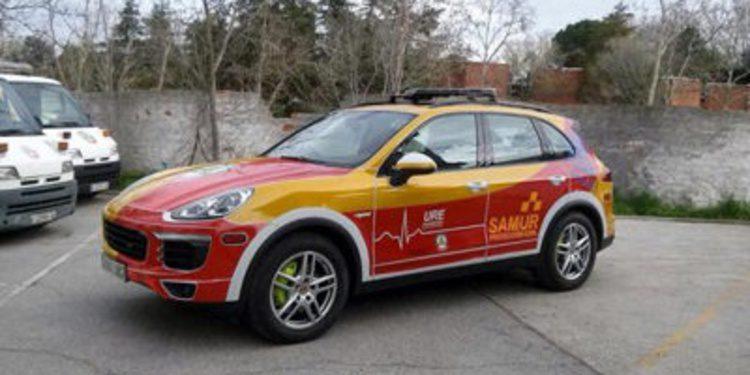 Misión especial para un Porsche Cayenne en el Samur