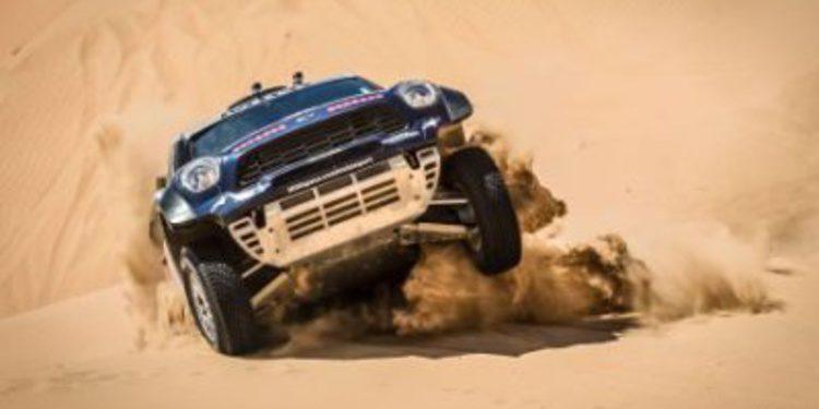 Gonçalves y Al-Attiyah ganan la etapa 3 del Abu Dhabi Desert Challenge