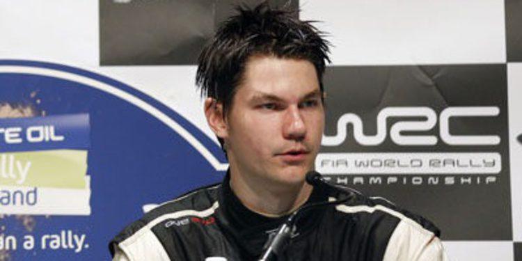 Teemu Suninen, nuevo piloto junior de Toyota en el WRC