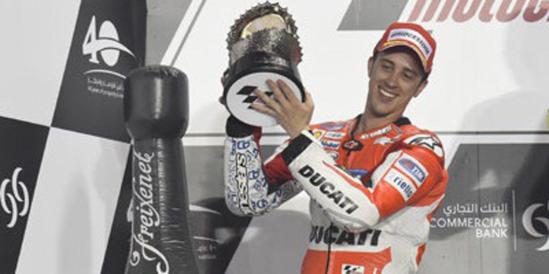 El doble podio de Ducati en Losail cuesta dos litros de gasolina