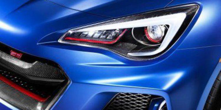 ¿El nuevo Subaru BRZ STI?