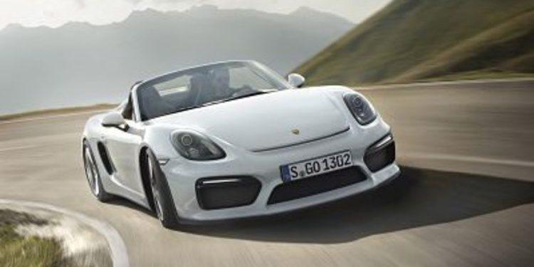 Llega el nuevo Porsche Boxster Spyder