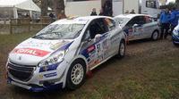 'Cohete' Suárez gana en su estreno en la 208 Rally Cup