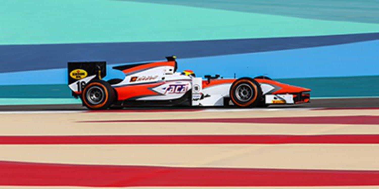 Sergio Canamasas contento tras su test con MP Motorsport en la GP2