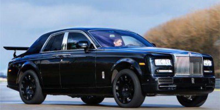 La mula del futuro SUV de Rolls-Royce